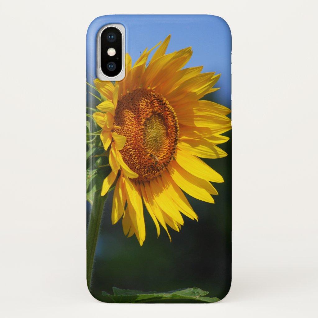 Big Sunflower iPhone X Case