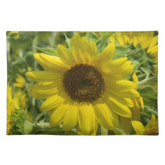 Big Sunflower Placemat