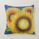 Big Sunflowers Pillow