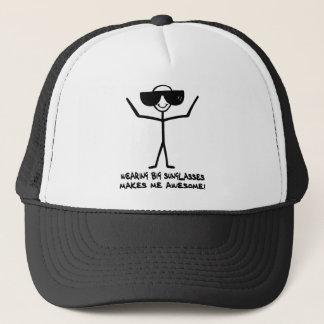 Big Sunglasses Trucker Hat