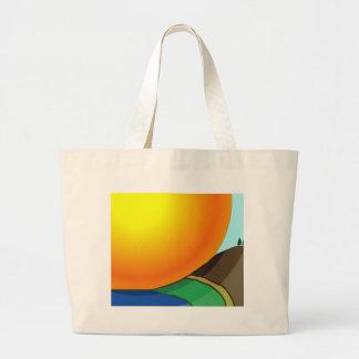 Big Sunrise Tote Bag