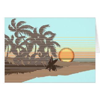 Big Sunset Greeting Cards