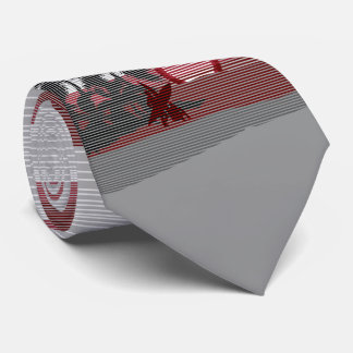 Big Sunset Hawaiian Island Two-sided Printed Tie
