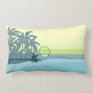 Big Sunset Hawaiian Reversible Lumbar Pillows