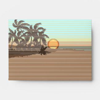 Big Sunset Hawaiian Stationary Envelopes