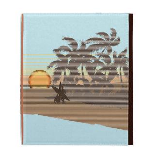 Big Sunset Hawaiian Surf iPad Folio iPad Folio Case