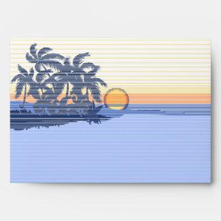 Big Sunset Matching Envelopes