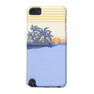 Big Sunset Stripe Hawaiian iPod Touch Cases