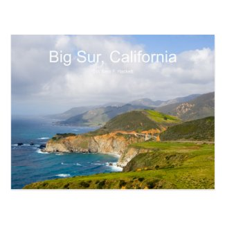 Big Sur 0033 California Products Postcard
