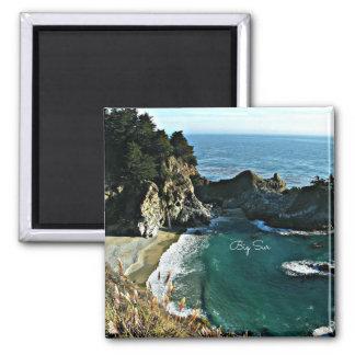 Big Sur 2 Inch Square Magnet