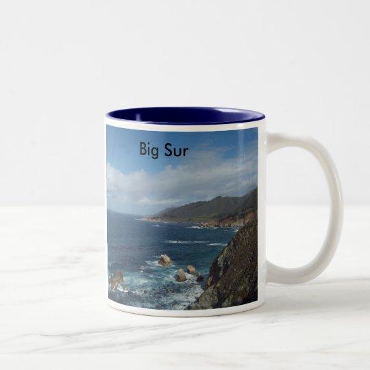 Big_Sur, Big Sur Two-Tone Coffee Mug