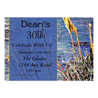 Big Sur Birthday Invitations