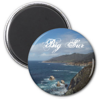 Big Sur Button 2 Inch Round Magnet
