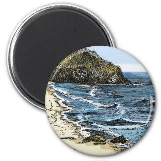 Big Sur, CA 2 Inch Round Magnet