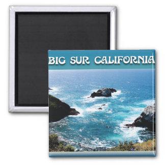 Big Sur California 2 Inch Square Magnet