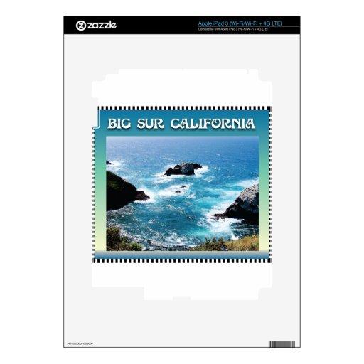 Big Sur California iPad 3 Decals