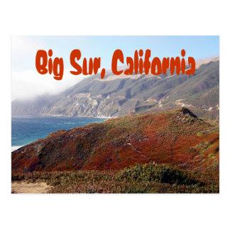 Big Sur, California landscape Postcard