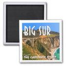 Big Sur California Pacific Coast Highway Magnet