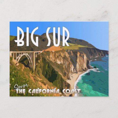 Big Sur California Pacific Coast Highway Postcard
