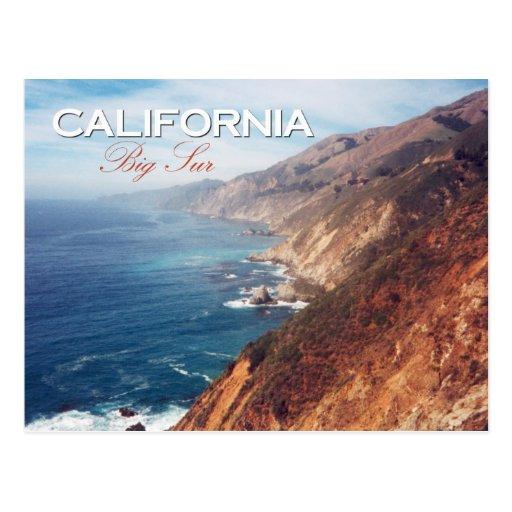 Big Sur, California Post Card