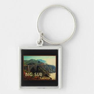 Big Sur California Vintage Key Chains