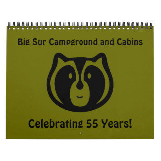 Big Sur Campground and Cabins Calendar