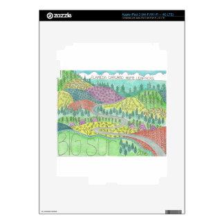 Big Sur Camping Trip 2016 Skin For iPad 3