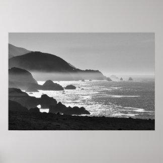 Big Sur Coast by Lisa Lavin Poster