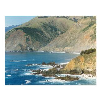 BIG SUR Country California Postcard
