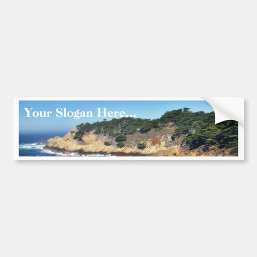 Big Sur Ocean Coastlines 4 Bumper Stickers