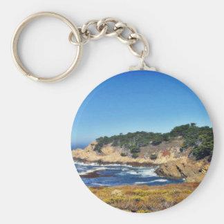 Big Sur Ocean Coastlines 4 Key Chains
