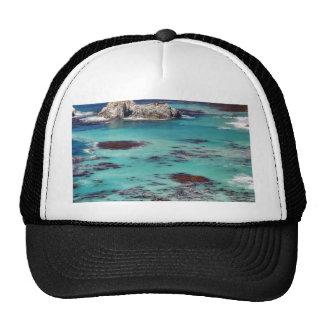 Big Sur Ocean Coastlines Mesh Hat