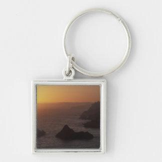 Big Sur off Highway 101, California, USA Keychain