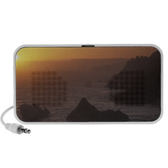 Big Sur off Highway 101, California, USA Portable Speaker