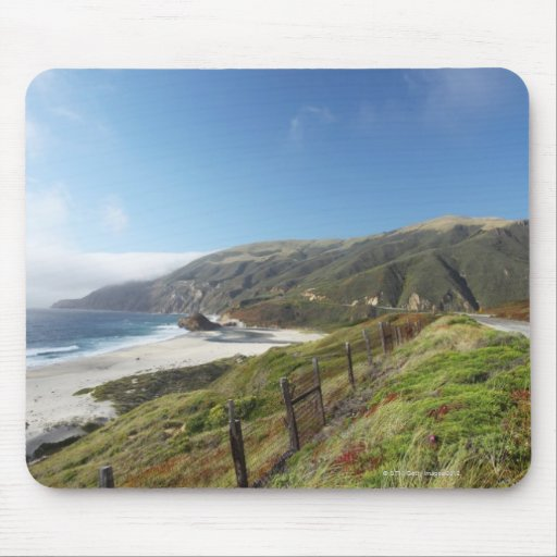 Big Sur perfection where the mountains roll Mouse Pad