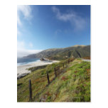 Big Sur perfection where the mountains roll Postcard