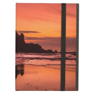 Beach Themed Big Sur Sunset Case For iPad Air