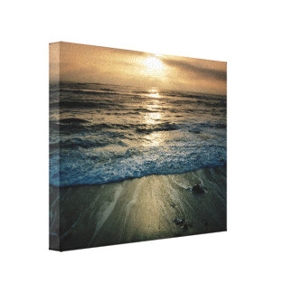 Big Sur Sunset Gallery Wrapped Canvas