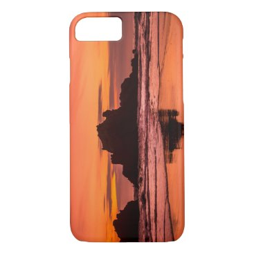 Beach Themed Big Sur Sunset iPhone 8/7 Case