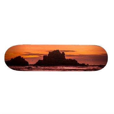 Big Sur Sunset Skateboard