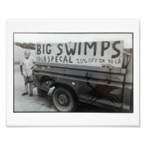 Big Swimps Print... Photo Print