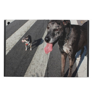 Big & Tall, Photo of Great Dane & Chihuahua Dogs Case For iPad Air