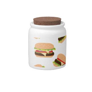 Big Tasty Burger Candy Jars