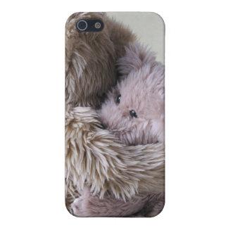 big teddy bear holds little bear  iPhone 5 covers