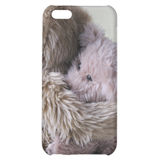 big teddy bear holds little bear  cover for iPhone 5C