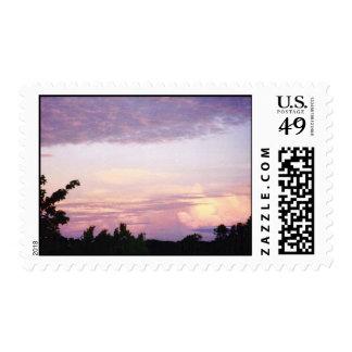 Big Texas Sky Postage Stamp