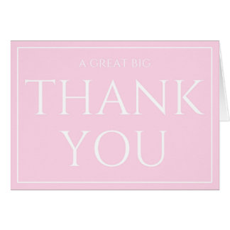 Big Thank You Administrative Professionals Day Card
