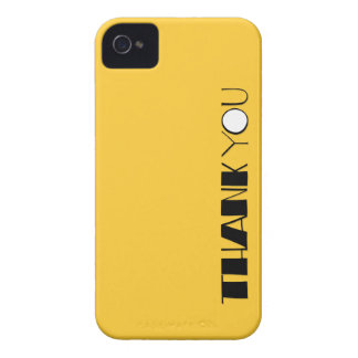 Big Thank You black BlackBerry Bold Case-Mate iPhone 4 Case-Mate Cases