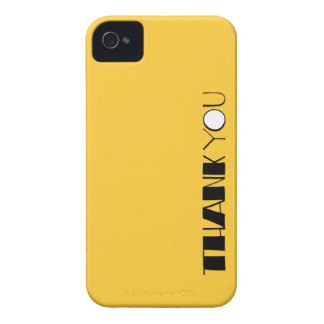 Big Thank You black Case-Mate ID™ iPhone 4/4S iPhone 4 Cases