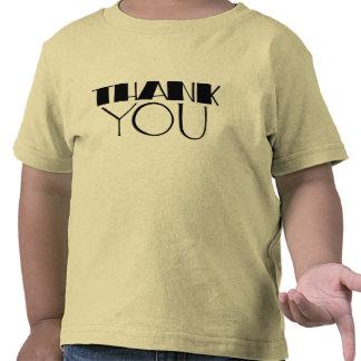 Big Thank You black Kids T-shirt